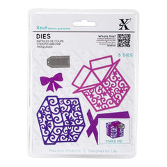 Xcut Decorative Die 6 pack Filigree Presents