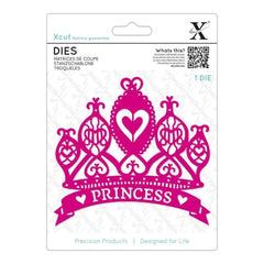 Xcut Decorative Die Princess Tiara