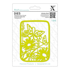 Xcut Decorative Die Wildflower Butterfly