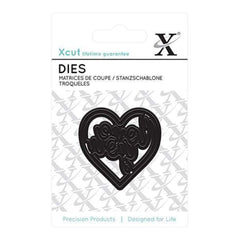Xcut Mini Decorative Die Love You Heart