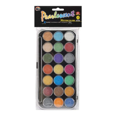 Yasutomo Pearlescent Watercolor Paint Cakes 21 Pack