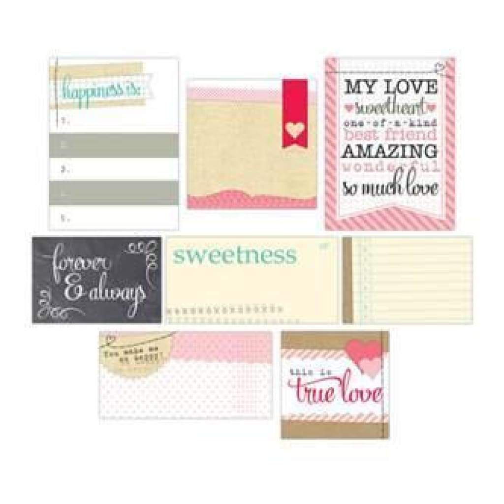 You And Me - Mixed Journaling Tags