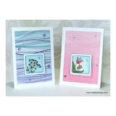 Your Next Stamp Die Stitched Peek A Boo Door & Frame