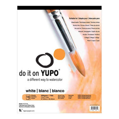 Yupo Paper 11 inch X14 inch 10 Sheets pack White 74lb