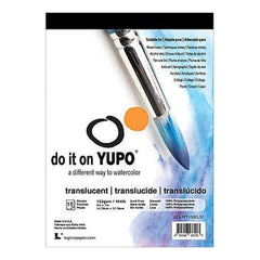 Yupo Paper 5x7in. 15 Sheets Pack Translucent 104Lb