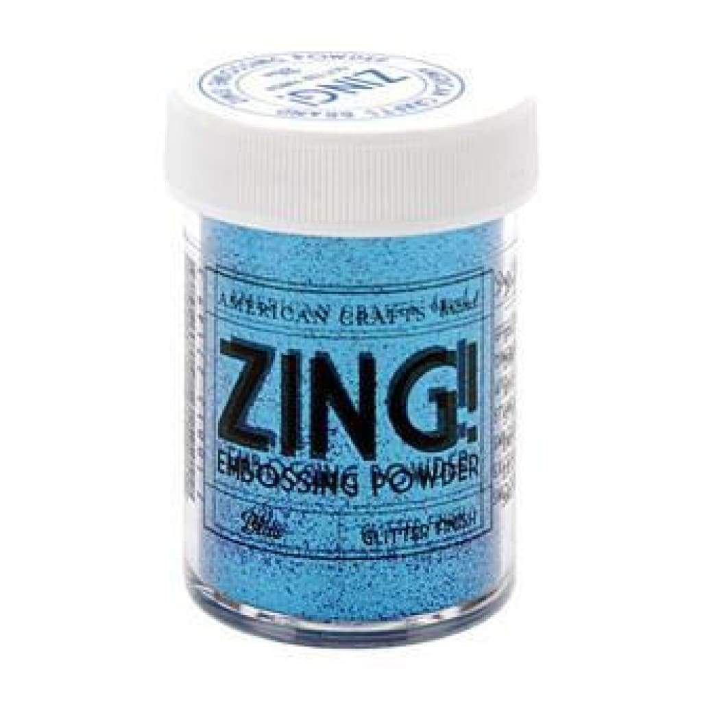 Zing! Glitter Embossing Powder 1Oz Blue