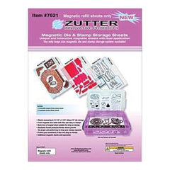 Zutter Magnet Sheets 3 Pack 3 Magnetic Sheets + 3 Dividers