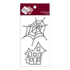 Zva Creative - Spider Web / Spooky House Crystal - Jet