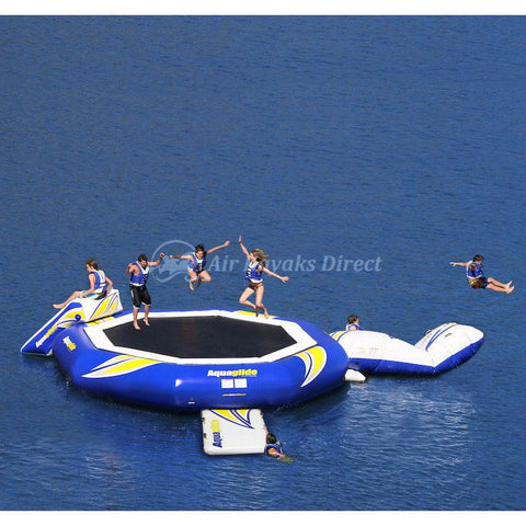 Aquaglide Supertramp Inflatable Aquapark - 23ft