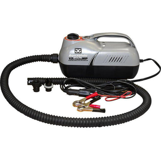 Aquaglide 12V 20PSI Turbo HP Electric Pump -  Boston & HR Valves - Aquaglide - Air Kayaks Direct