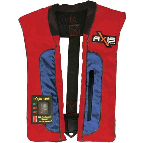 AXIS MK2 Offshore Pro 150N Inflatable Life Jacket PFD - Auto - AXIS - Air Kayaks Direct