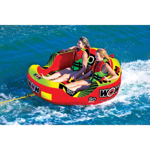WOW Go Bot 2P Inflatable Towable Tube - WOW - Air Kayaks Direct