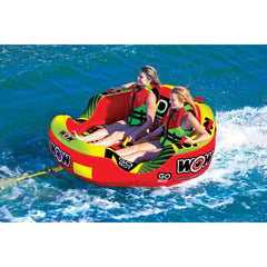 WOW Go Bot 2P Inflatable Towable Tube