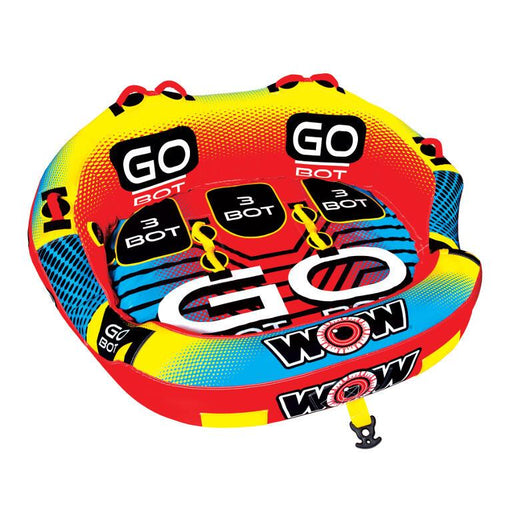 WOW Go Bot 3P Inflatable Towable Tube - WOW - Air Kayaks Direct