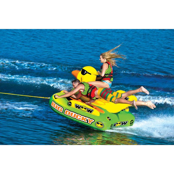 WOW Big Ducky 1-3P Inflatable Towable Tube - WOW - Air Kayaks Direct