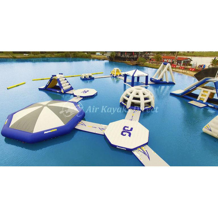 Aquaglide Universal Connection Angled Inflatable Platform - Aquaglide - Air Kayaks Direct