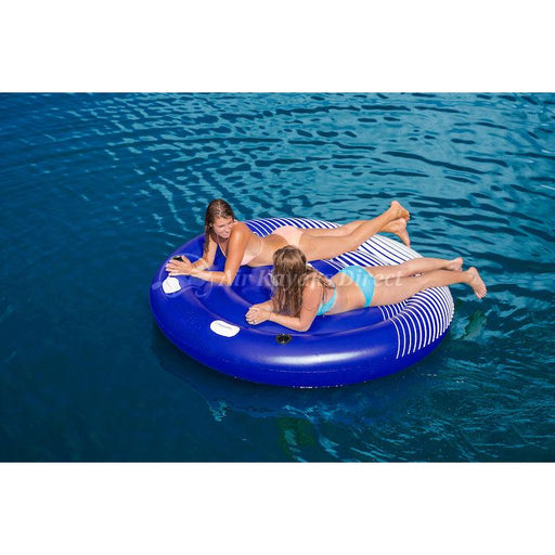 "Aquaglide Hydro Lounger 80"" 2 Person Inflatable Float - Aquaglide - Air Kayaks Direct"
