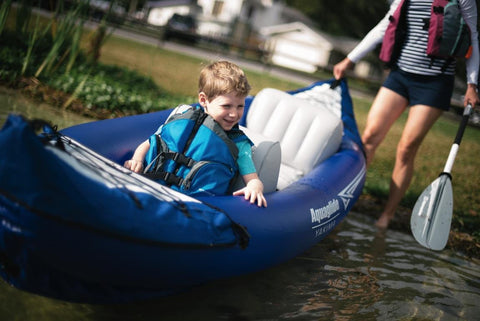 Aquaglide Yakima 2-Person Inflatable Kayak Deluxe Package