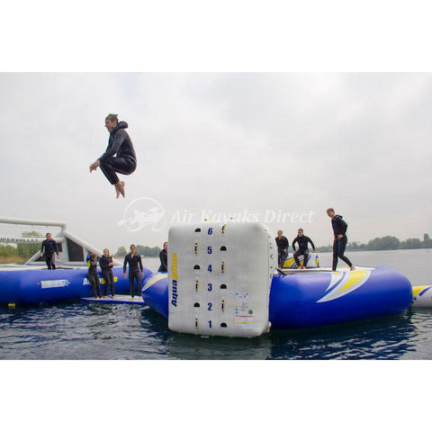 Aquaglide Escalade Trampoline Climbing Wall Inflatable Obstacle - 2m