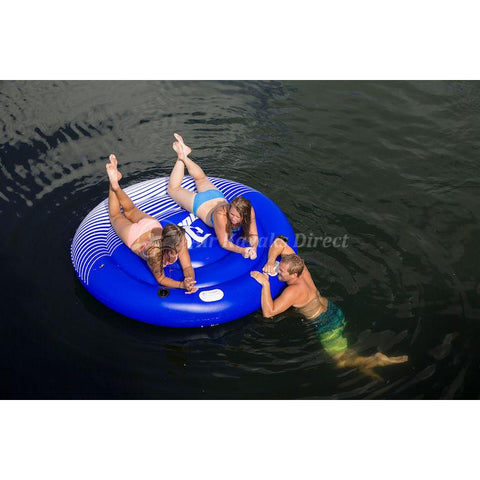 "Aquaglide Hydro Lounger 80"" 2 Person Inflatable Float"