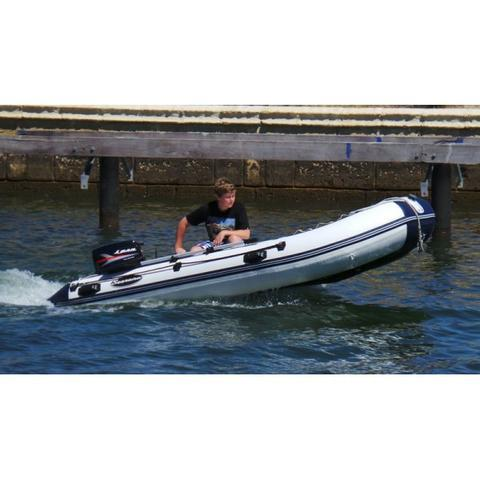 Searano Aluminium Deck 380 Inflatable Dinghy - 3.8m