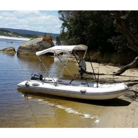 Searano Aluminium Hull 390 Rigid Inflatable RIB Dinghy - 3.9m