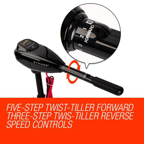 Striker Electric Trolling Motor - 60lbs