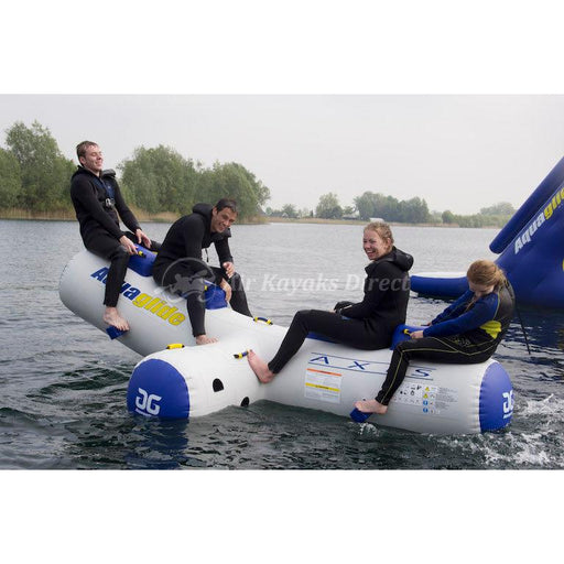 Aquaglide Axis Rocker Inflatable Obstacle for Waterparks - Aquaglide - Air Kayaks Direct
