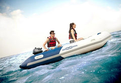 Aqua Marina Deluxe Sports Air Deck Inflatable Dinghy Boat - 2.77m