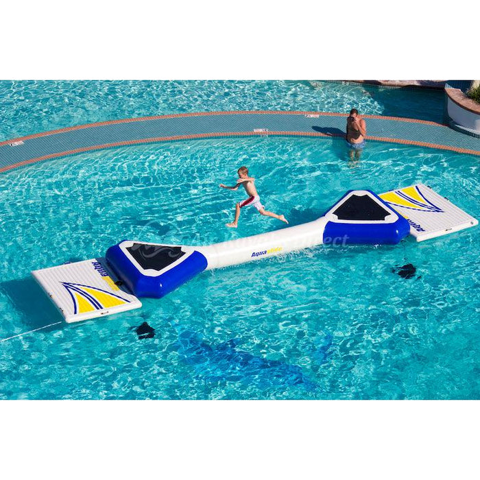 Aquaglide Foxtrot Balancing Log Inflatable Obstacle for Waterparks - Aquaglide - Air Kayaks Direct