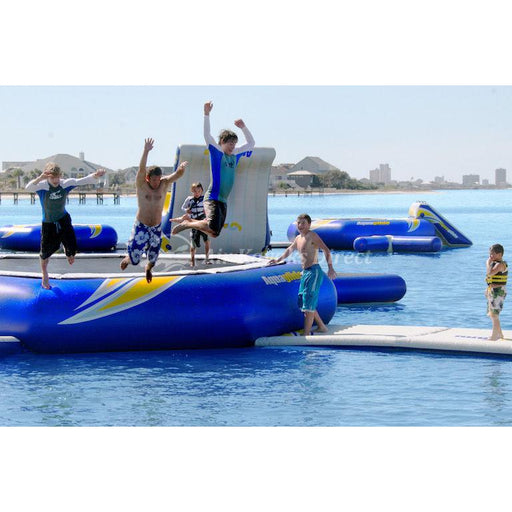 Aquaglide Supertramp Inflatable Aquapark - 23ft - Aquaglide - Air Kayaks Direct