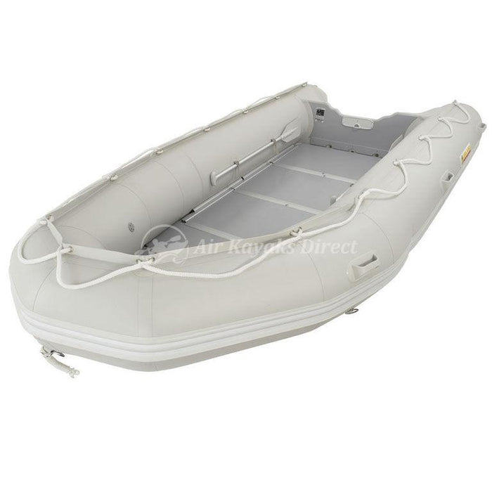 Island Inflatables Premium Inflatable Dinghy Boat - Wood Floor 4.3m - Island Inflatables - Air Kayaks Direct