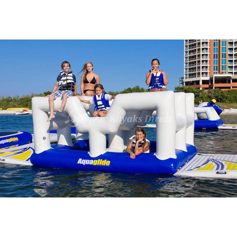 Aquaglide Vista Inflatable Climbing Obstacle for Waterparks