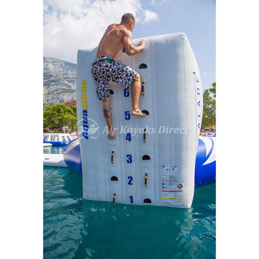 Aquaglide Escalade Trampoline Climbing Wall Inflatable Obstacle - 3m - Aquaglide - Air Kayaks Direct