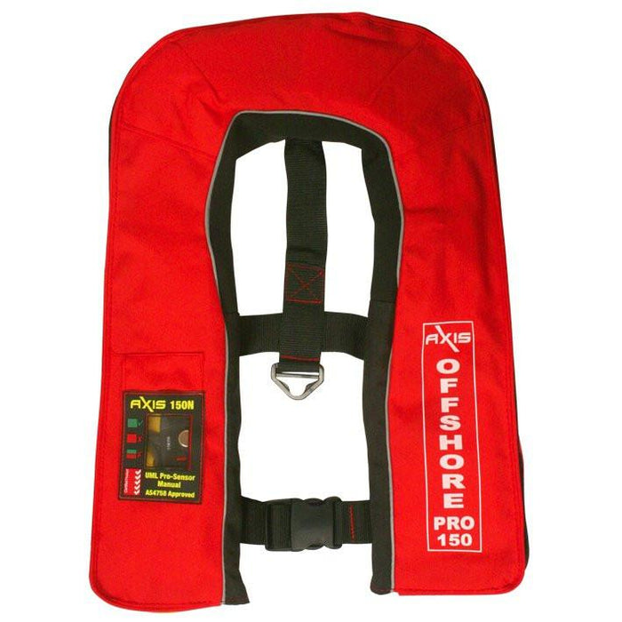 AXIS Offshore Pro 150N Inflatable Life Jacket PFD w/ Harness - AXIS - Air Kayaks Direct