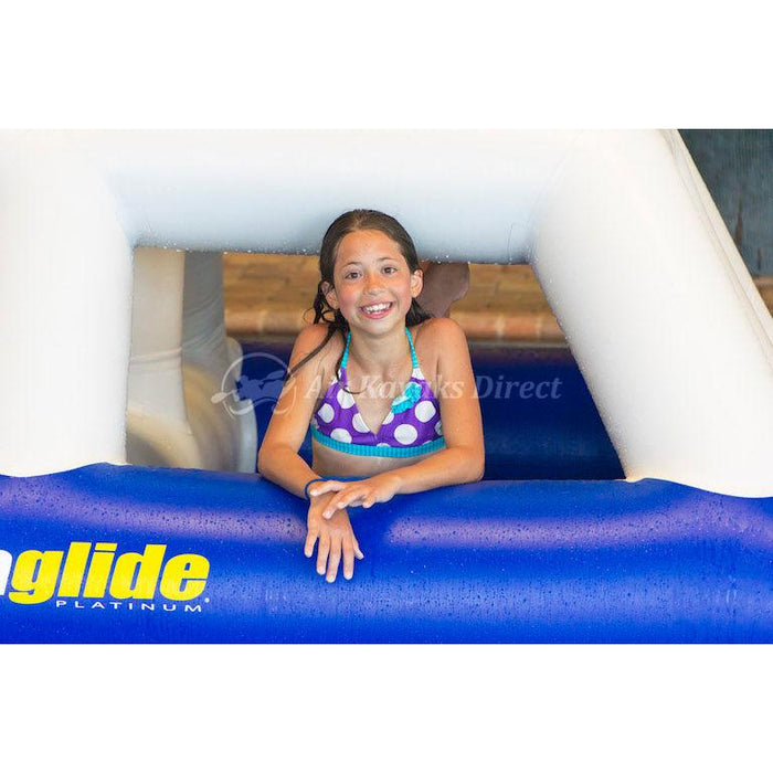 Aquaglide Sierra Inflatable Climbing Obstacle for Waterparks - Aquaglide - Air Kayaks Direct