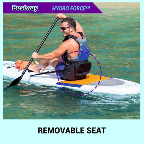 Bestway Hydro-Force Coast Liner Inflatable SUP Dual Kayak - 3.2m