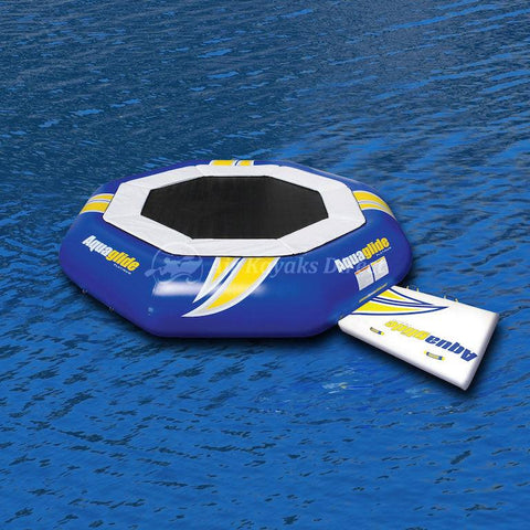 Aquaglide Supertramp Inflatable Aquapark - 14ft