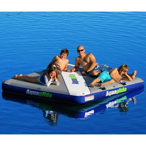 Aquaglide Airport Classic™ Inflatable Lounge Platform - 2.3m x 2.3m