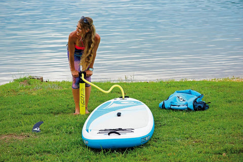 "BIC Sport Air Fitness Inflatable SUP Paddleboard 10' 6"" x 34"""
