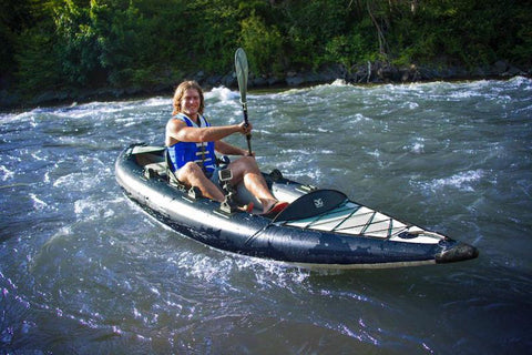 Aquaglide Blackfoot HB Angler XL Fishing Inflatable Kayak