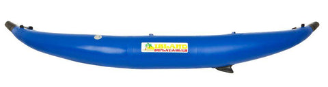 Island Inflatables Heavy Duty Inflatable Kayak - Blue