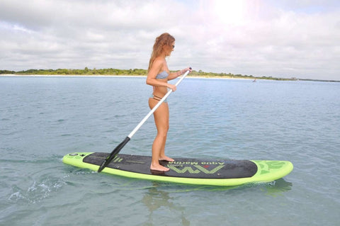 "Aqua Marina Breeze 9' 9"" Inflatable SUP Paddleboard Dual Kayak"