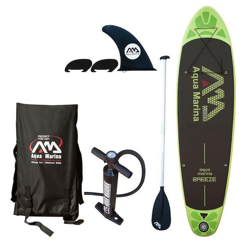 Aqua Marina Breeze 9 9 Quot Inflatable Sup Paddleboard Dual