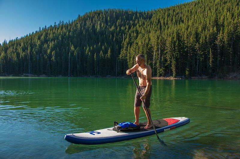 Aquaglide Cascade 12ft Inflatable SUP Paddleboard - Air Kayaks Direct