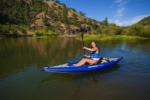 Aquaglide Chelan HB 1 - 1 Person Touring Inflatable Kayak