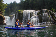 Aquaglide Chelan HB 2 - 2 Person Touring Inflatable Kayak