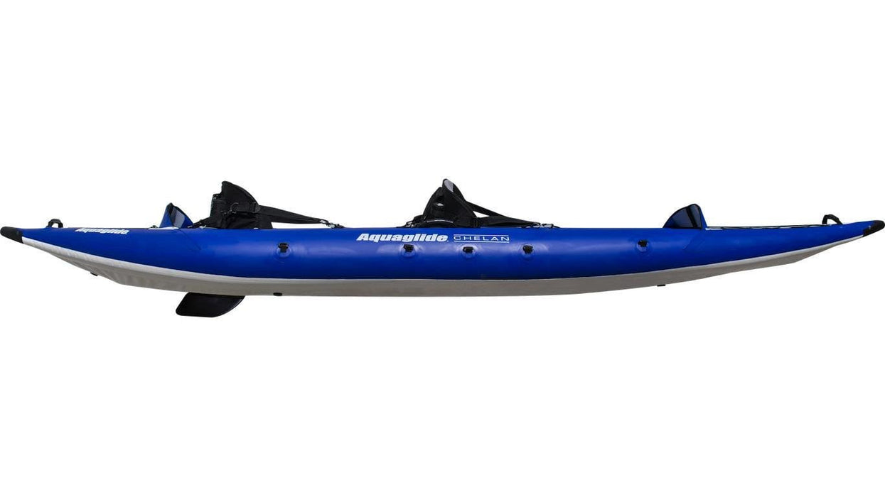 Aquaglide Chelan 140 HB - 2 Person Touring Inflatable Kayak - Air Kayaks Direct