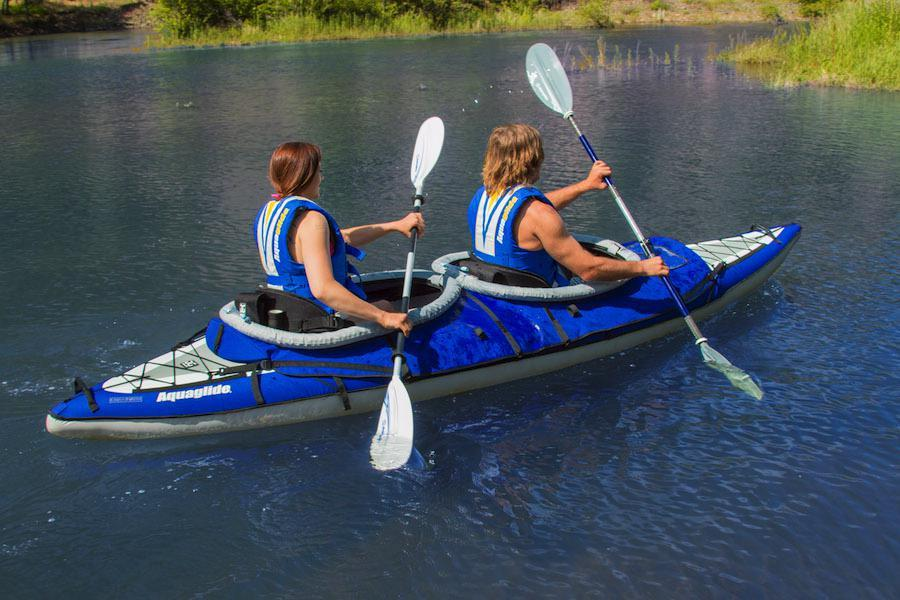 Aquaglide Double Kayak Deck Cover - Touring TWO - Aquaglide - Air Kayaks Direct