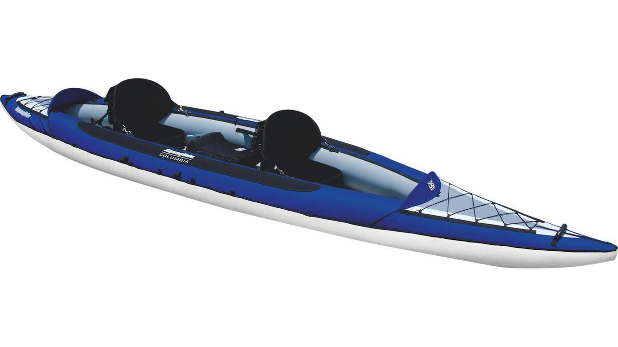 Aquaglide Columbia™ XP Tandem XL 3 Person Inflatable Kayak - Aquaglide - Air Kayaks Direct